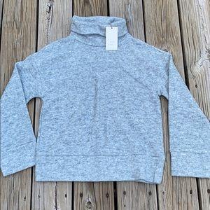 a new day fleece turtleneck pullover sweatshirt